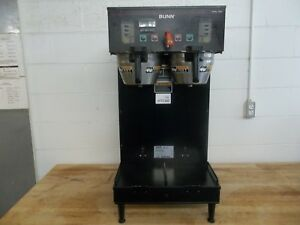 Bunn Dual Shdbc Commercial Coffee Brewer Programmable 120v Or 240v