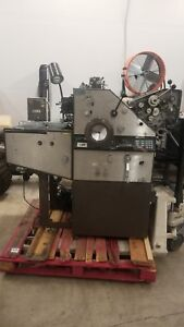 Ab Dick 9870 2 Color Offset Press W Townsend T 51 Swing Away Head
