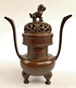 Chinese Ming Bronze Incense Burner