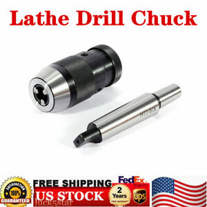 1 16mm Lathe Drill Chuck Keyless 1 32 5 8 Self Tighten mt3 b18 Arbor For Mill