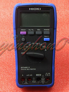 1pcs New Hioki Dt4211 Digital Multimeter Dt4211 0 5 Accuracy