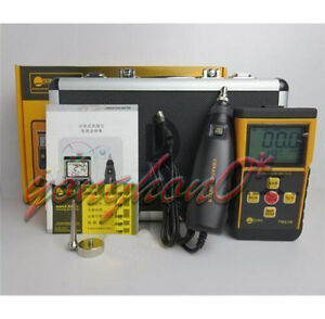 1pc Tm63b Portable Digital Vibrometer Vibration Meter Analyzer Lcd Backlight