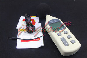 1pcs New Gm1356 Lcd Digital Sound Level Meter 30db 130db Usb Noise Measurement