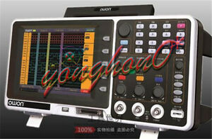 Owon Mso7102t 100mhz Digital Oscilloscope 100mhz 1gs s 500ms s 7 8 Lcd