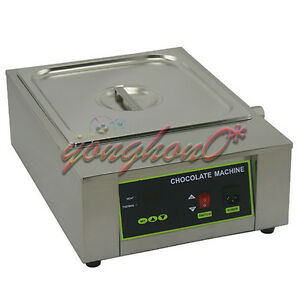New Single Tank 8 5kg Chocolate Tempering Machine Chocolate Melting Machine 220v
