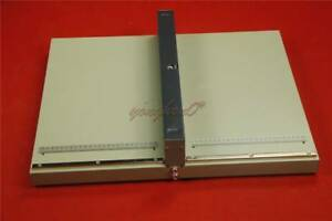 New Manual Paper Press Creasing Machine A3 Paper Folding Machine Creasing 460mm