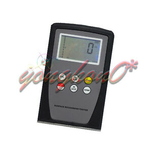 New Srt 6100 Digital Surface Roughness Tester Meter Gauge Range Ra Rz