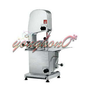 J210 Automatic Bone Sawing Machine Meat Bone Cutter Food Cutting Machine 220v