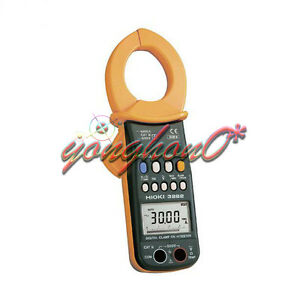 1pcs New Hioki 3282 Clamp Meter Digital Clamp On Hitester 1000a