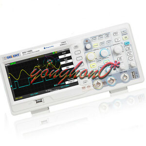 New Siglent Sds1102dl 100mhz Digital Storage Oscilloscope 2 Channels 1 Ext 7 Zh