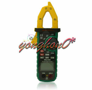 Ms2109a Mastech True Rms Digital Ac Dc Clamp Meter Temp Hz Capacitance Tester