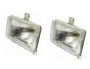 Head Light Lh Rh Pair Massey Ferguson Tractor Mf 285 375 Landini