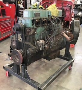 Waukesha Fire Truck 145 Gkb Gasoline Engine For Restoration Or Custom Vehicle