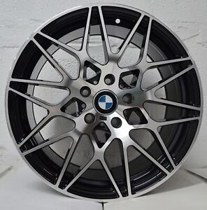 Set Of 4 Wheels 18 Inch Stagg Black Machined Rims Fits Bmw 2 Series Base Model