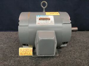 10 Hp 213t Marathon Electric Motor Cont Duty 230 460 3 phase 3475 Rpm Ins B3 New