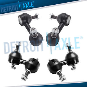 4pc Front Rear Sway Bar End Links For 2001 2005 Honda Civic Acura Non Si