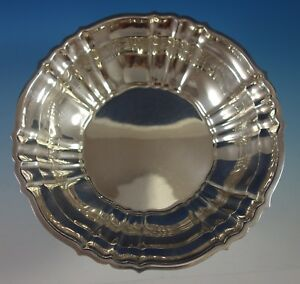 Chippendale By Gorham Sterling Silver Fruit Bowl 42667 9 1 2 Diameter 2735