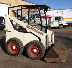 8c Mitey Mac Skid Steer Loader