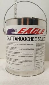1 Gal Clear High Gloss Oil based Acrylic Chattahoochee Sealer Epoxy Concrete