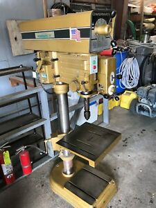 Powermatic 1200 Drill Press 3 Phase Used Good Condition