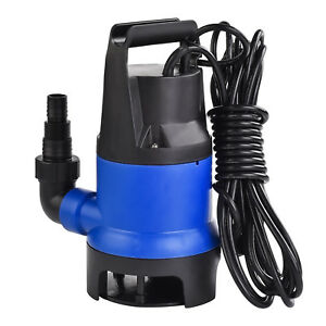 Kenwell 400w 1 2 Hp Submersible Water Pump Swimming Pool Dirty Flood Clean Pond