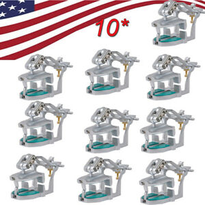10x Fda Dental Lab Adjustable Magnetic Articulator Mount Full Teeth Model usa