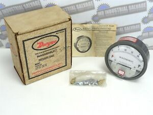 Dwyer Magnehelic Differential Pressure Gauge 0 25 Gage 2025 15 Psig