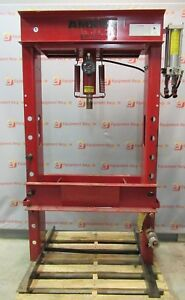Amrox Hydraulic 50 Ton Industrial Floor Shop Bearing Press Hydraulic