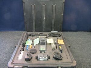 Kitco Splicer Kit Fiber Optic Fitel S121 Fusion Cable wire Military Case Used