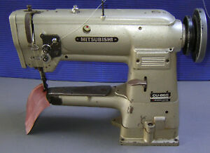 Cylinder Arm Sewing Machine Walking Foot Leather Upholstery Mitsubishi Cu 865