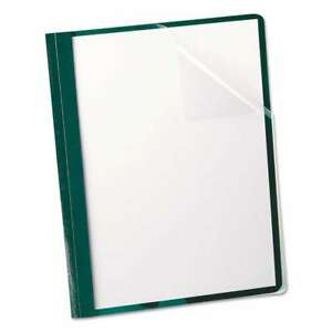 Oxford Clear Front Report Cover 3 Fasteners Letter 1 2 Capac 078787558564