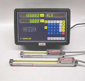 Good Dro 2 Axis Digital Readout And 2 Pcs Linear Scale Encoder With Accessories