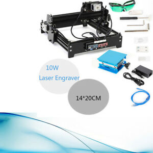 Cnc Engraver Engraving Machine With 10w Laser Cutting Wood Foam Usb Interface Us