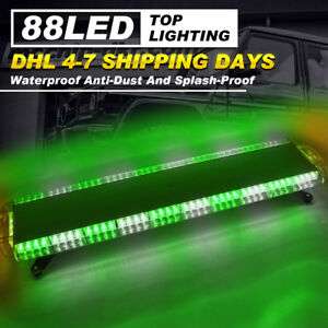 Car Strobe Lights 47inch 88 Led Flashing Bar Emergency Warning Truck Dash Lamps