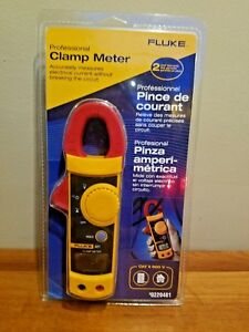 Fluke Clamp Meter 321 With Carrying Case And Test Leads New