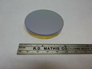 Spectra Physics Coated Zerodur Dichroic Mirror Optical Optics As Pictured