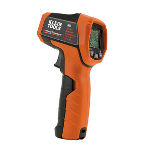 Klein Tools Ir5 12 1 Dual Laser Infrared Thermometer W Case