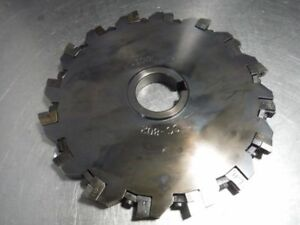 K Tool 8 Indexable Slot Milling Cutter 1 5 Arbor Sc 802 loc2362