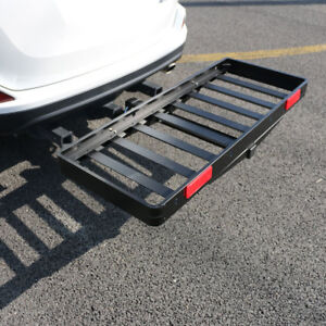 50 X 20 Cargo Carrier Aluminum Ultralight Folding Receiver 500lb Hitch Mount