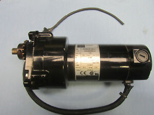 Bodine Gear Motor 24a4bepm z2 130v 1 17hp 18 1 Ratio 139 Rpm