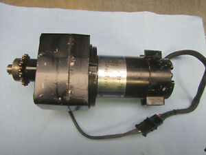 Leeson Permanent Magnet Dc Gear Motor Cm24d25nz10a Tested