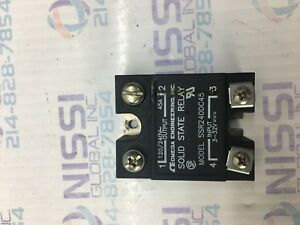 Omega Engineering Ssr240dc45 45a Solid State Relay