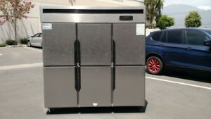 Six Door Refrigerator Freezer R46 commercial Cooler restaurant Equipment