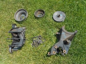 1994 Chevy 454 Big Block Serpentine Brackets And Pulleys Set