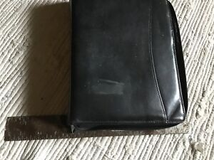 Day Runner Leather Zipper Planner Binder