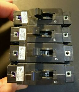 Airpax 15 Amp Dc Volt Breaker Lot X12 Lelk1 1rec4 30326 15 New