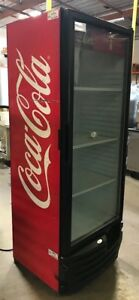 Vendo Imbera G319 Commercial Refrigerator Single Glass Door Display Merchandiser