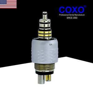 Adec W h 6 Pin Roto Quick Coupling For Synea L For Led Fiber Optic Handpiece