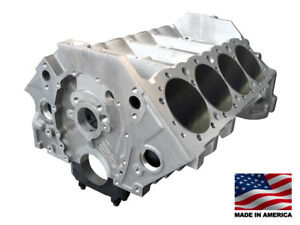 Bmp 084530 Aluminum Small Block Chevy 400 Engine Block 4 120 Bore Splayed Caps