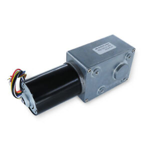 1pcs Dc24v A5882 4260 Brushless Turbo Worm Gear Motor Low Speed Motor Cw ccw